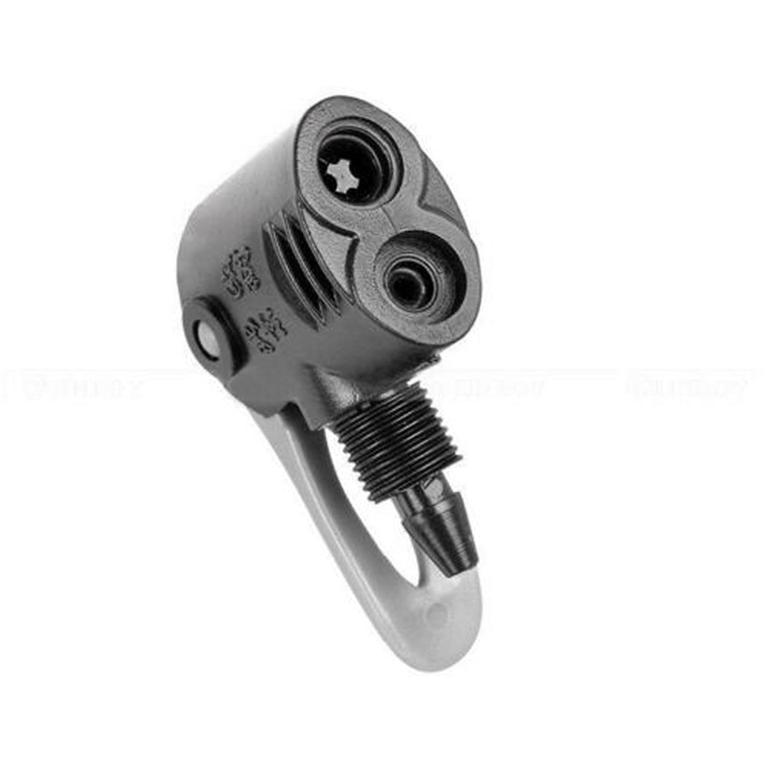 Schrader Valve Bicycle Bike Tyre Tire Air Pump Inflator Clip Connector Head