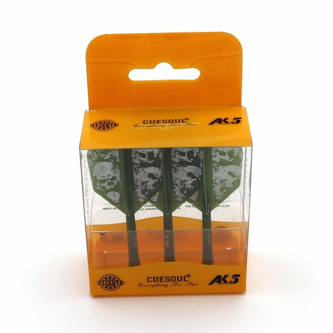 CUESOUL Rost Integrated Dart Shaft and Flights Medium,Set of 3