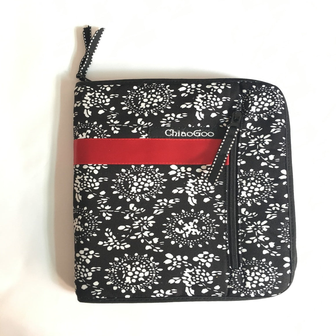 Cosmetic Bag Printing Interchangeable Needle bag Storage Needle case for Knitting and Makeup Brush 25.3cm*15.3cm