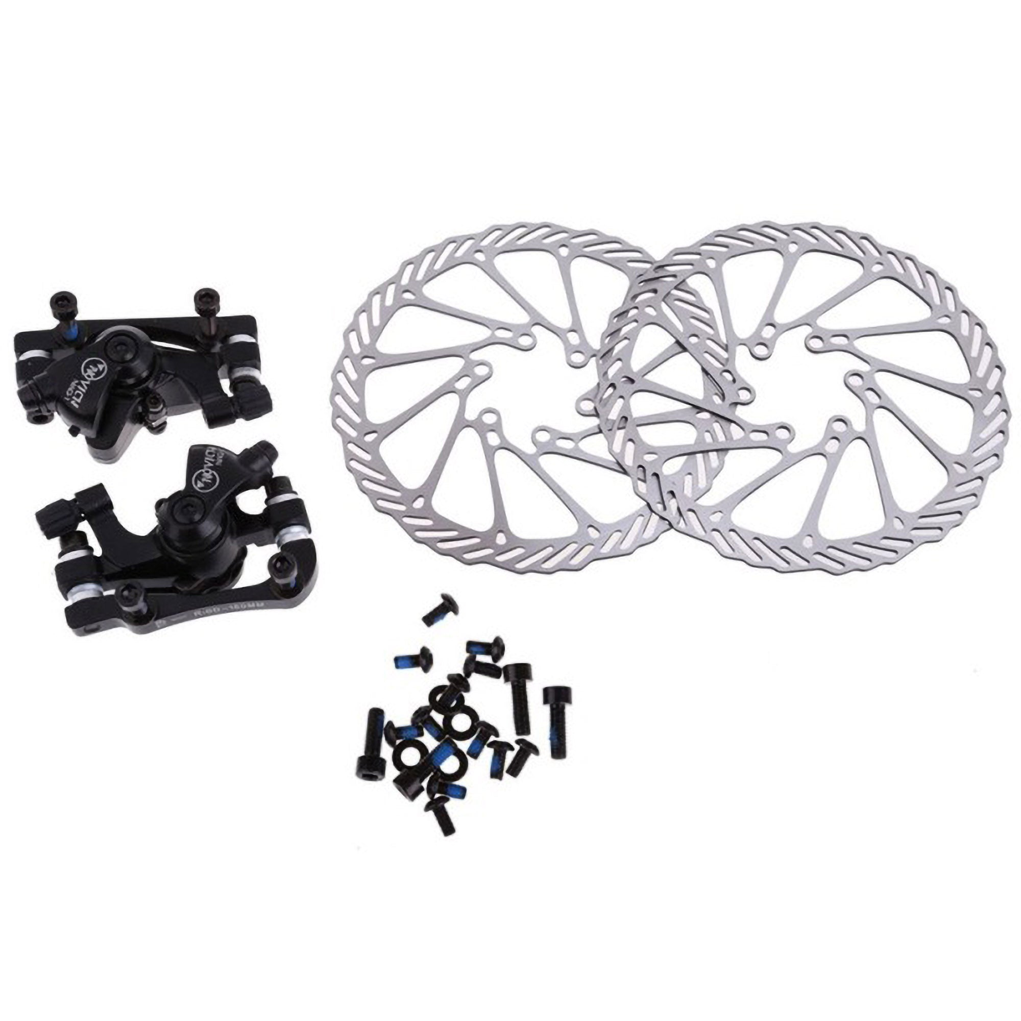 Cycling Bicycle Disc Brakes Set Kit G3 Rotors 160mm Brake Levers Cableoption Ultra