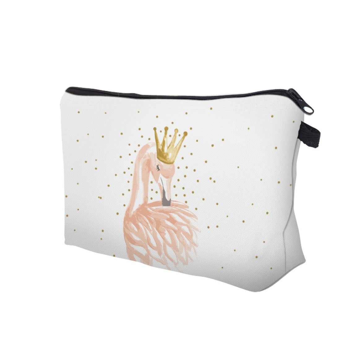 Deanfun Cosmetic Bags 3D Printing Flamingo Princess Cute Gift for Girls Makeup Organizer Dropshipping 51071