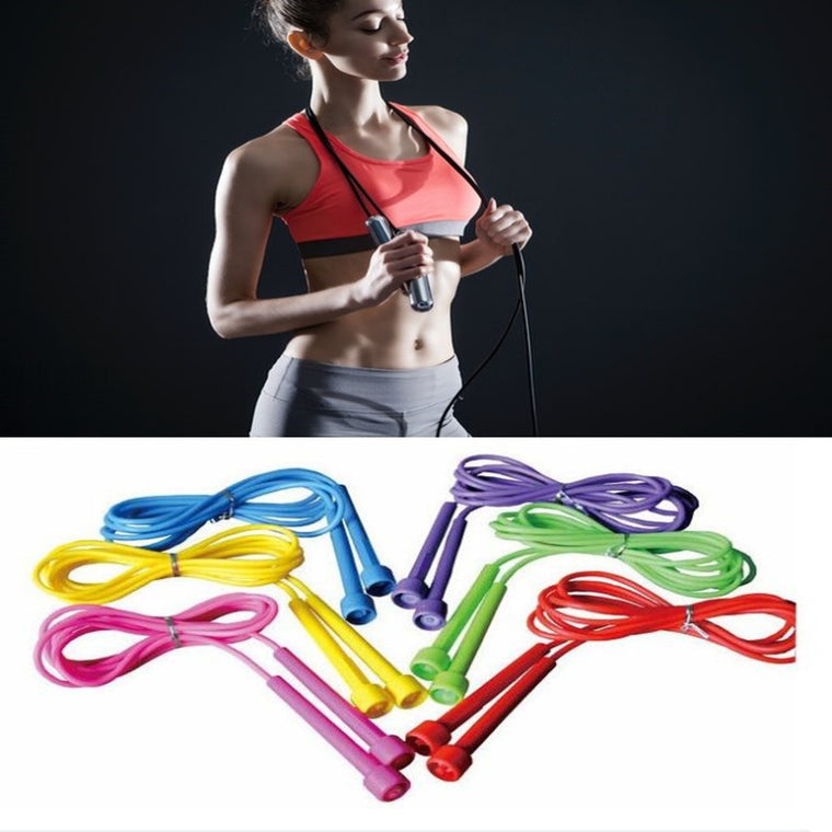 Free Shipping Pink Speed limit skipping rope skipping jump rope exercise Fitness equipment B2