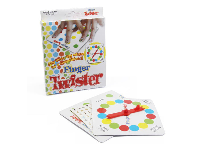 Finger Twister! Dance on Fingers Toys Multiplayer Game Family Funny Entertainment Board Game Fun Poker Playing Cards Gift Box