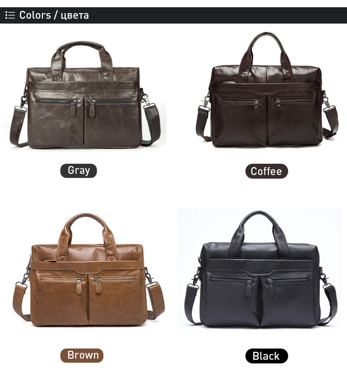 WESTAL Men Briefcase Genuine Leather Messenger Bag Men Laptop Bag Leather office Totes Men's Bags Male Briefcase Computer Bags