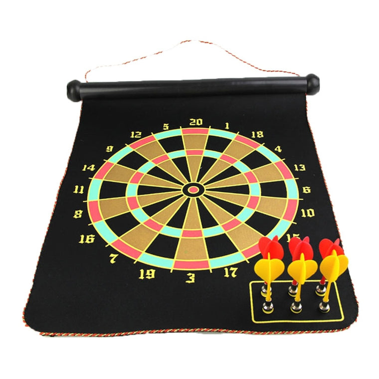 High Quality 12/15/17 Inches Magnetic Dart Board Darts Suit Double-sided Darts Plate of Safety Dart Needle for Indoor Game
