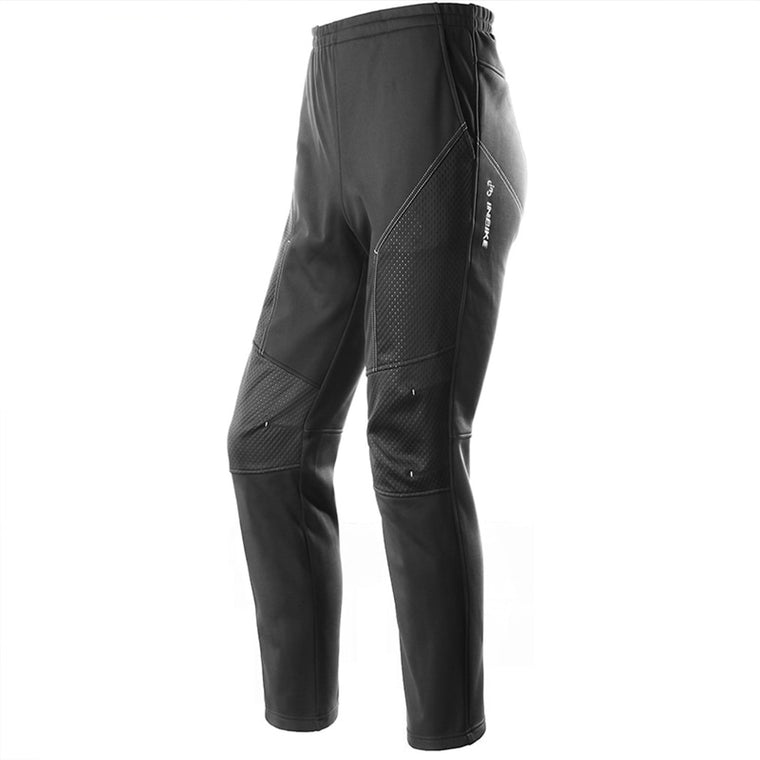 INBIKE Winter&Autumn Men Cycling Pants Long Bike Pants Waterproof Anti-sweat Breathable Pockets Bicycle Trousers Riding Clothing