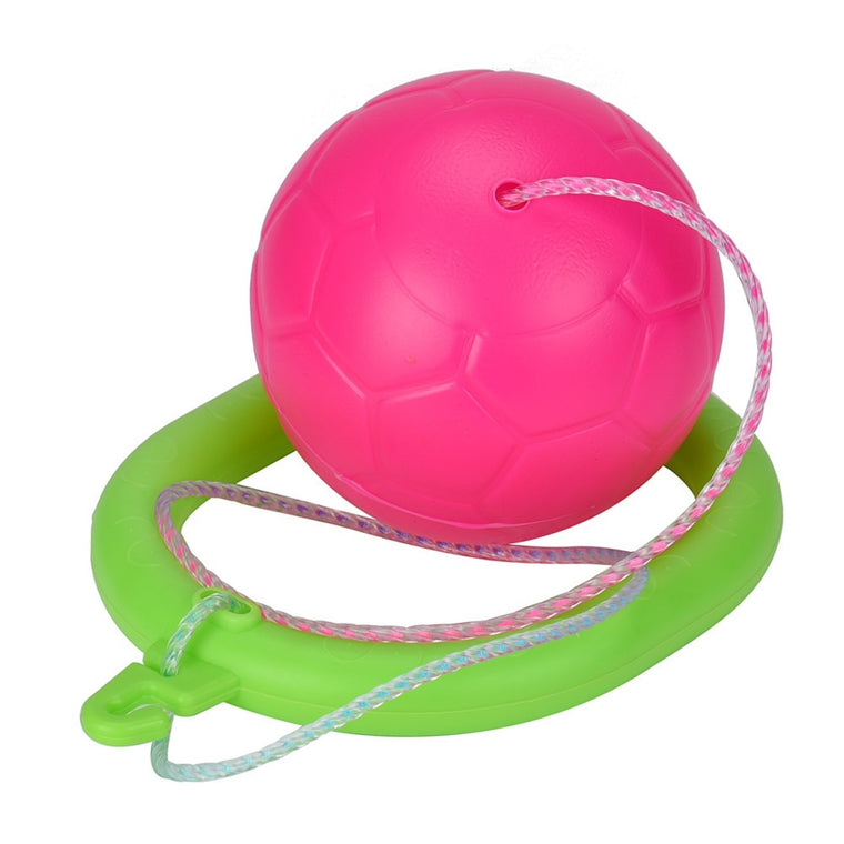 Jumping Ball Kids Toys Kindergarten Sources Activity Outdoors And Foot Jump Random Color