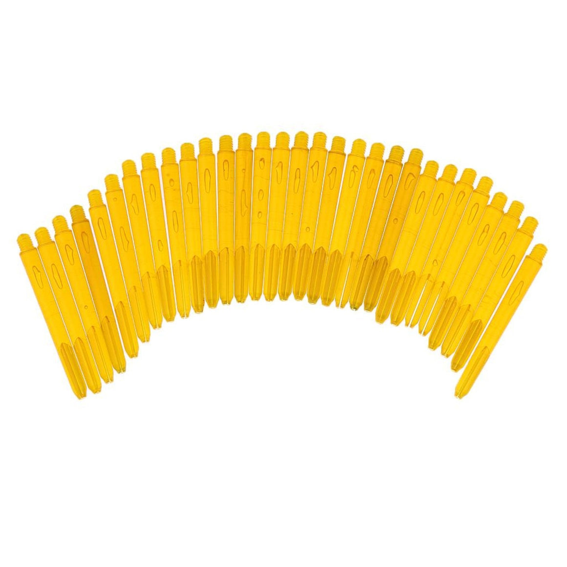 MagiDeal High Quality 30Pcs Plastic 2BA Dart Shafts Replacement Dart Stems for Soft Tip Dart and Steel Tip Dart Assorted 8 Color