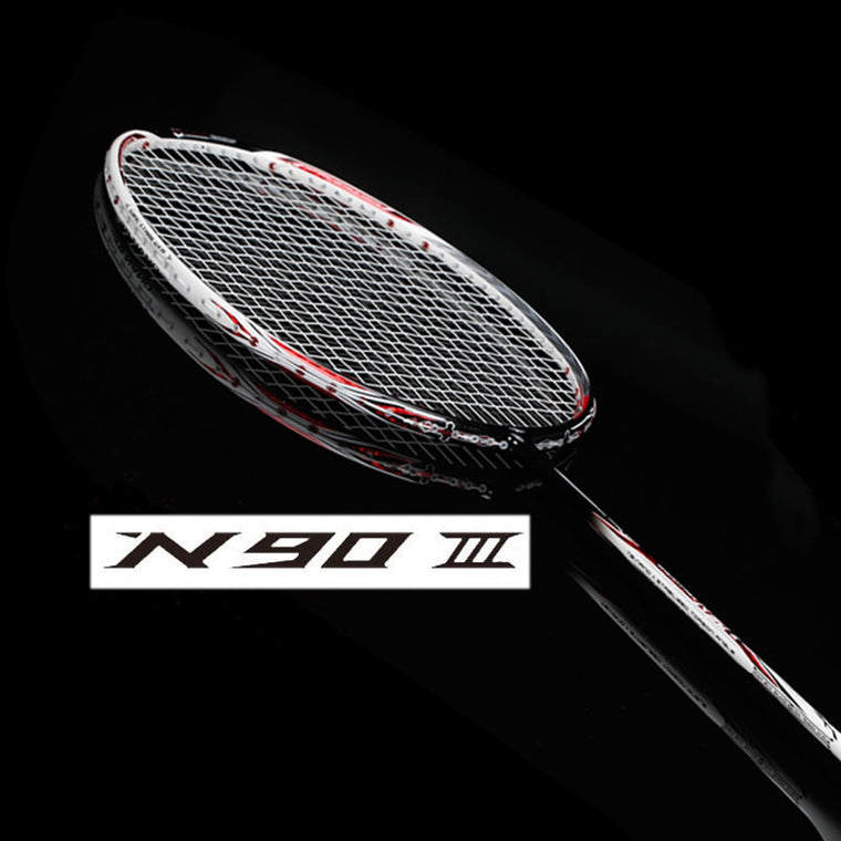 N90 III carbon badminton racket with string and overgrip n90 badminton racket n903