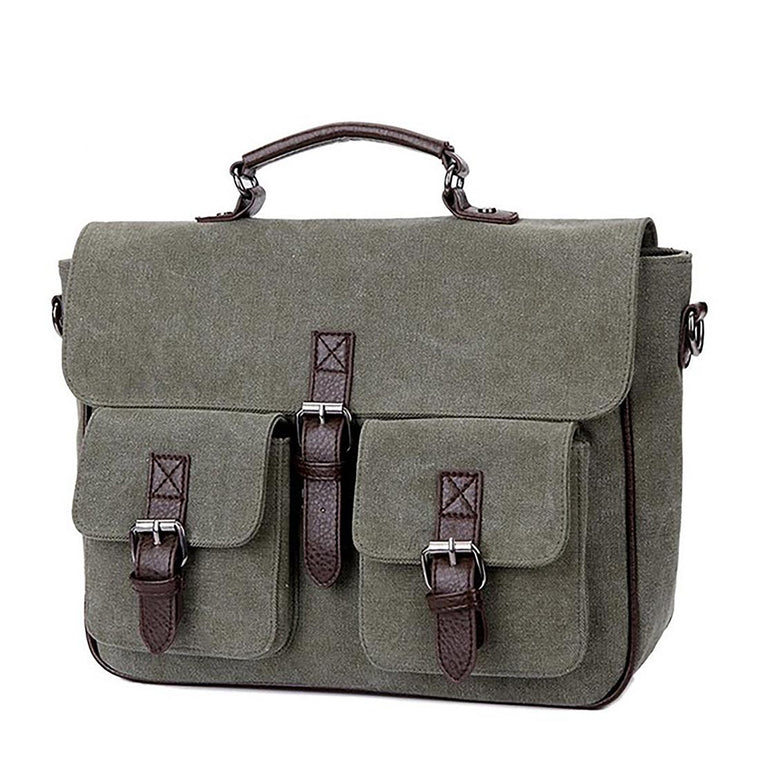 NEW Canvas Handbag Men shoulder Messenger bags Casual Business Briefcase Laptop bag Teenagers Designer student Crossbody bag