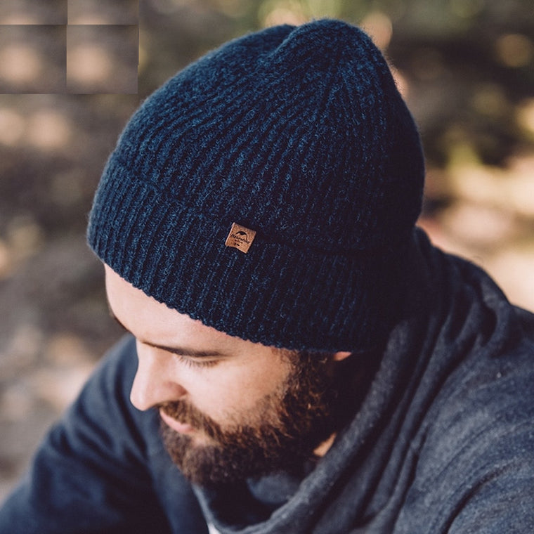 Naturehike Wool Hat Winter Knitted Warm Thick Caps Climbing Outdoor Hiking 2 Colors