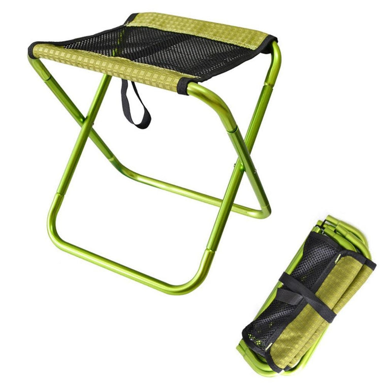 Outdoor Foldable Fishing Chair Ultra Light Portable Folding Backpack Camping Oxford Cloth Aluminum Alloy Picnic Fishing Chair