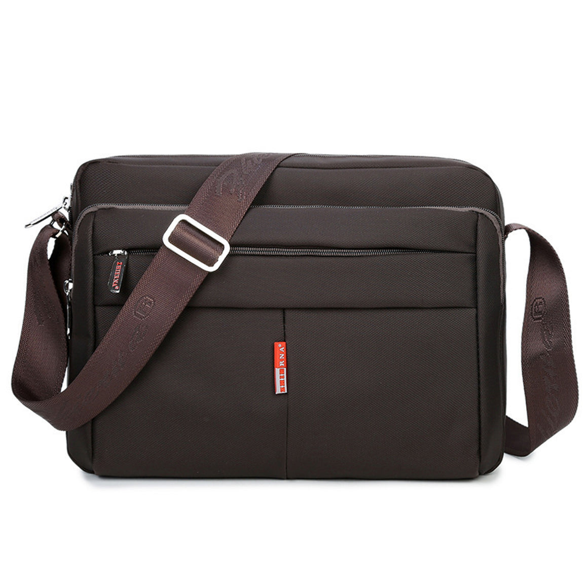 Oyixinger High Quality Man Notebook Bag Large Capacity Briefcase Good Nylon Business Laptop Bags Shoulder Messenger Briefcase