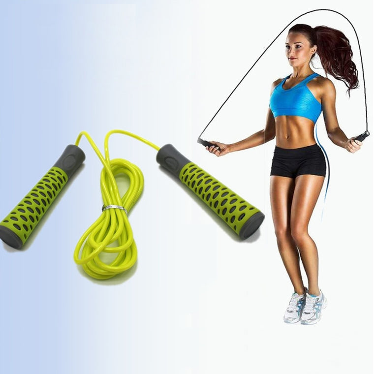 SILITE 2.75m PVC Skipping Ropes Speed Gym Jump Rope Fitness Training Equipment Pular Corda Crossfit Soga Para Saltar Springtouw
