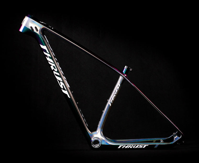 THRUST Bicycle Carbon Frame Bike mtb Frame 29er 27.5er 15 17 19 BSA BB30 Tapered Mountain Bike Frame 2 Year Warranties 8 Colors