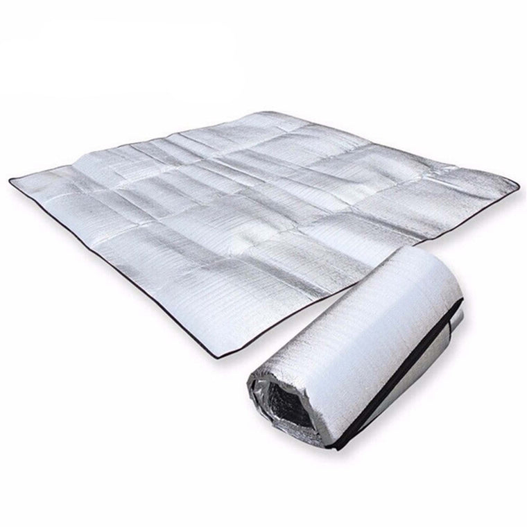 Waterproof Aluminum Foil EVA Camping Mat Foldable Folding Sleeping Picnic Beach Mattress Outdoor Mat Pad 3Size 100~200X200cm