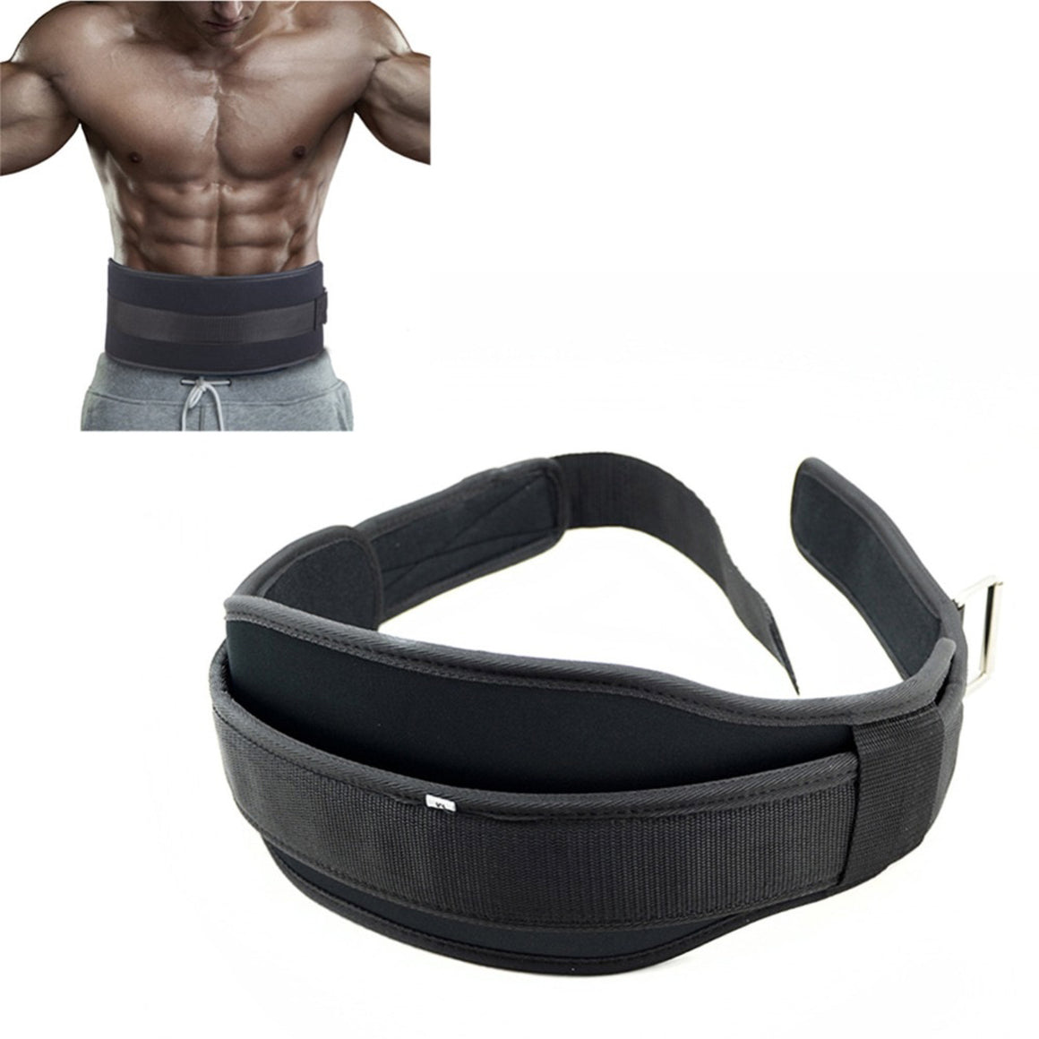 Fitness Weight Lifting Belt Barbell Dumbbel Training Back Support Weightlifting Belt Gym Squat Dip Powerlifting Waist Protector