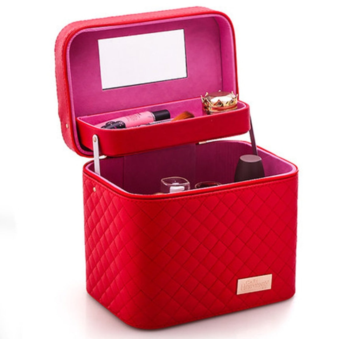 Women Cosmetic Box Designer High Quality Portable Cosmetic Bag  Large Capacity PU Cosmetic Bag Women Makeup Dedicated Tlan01