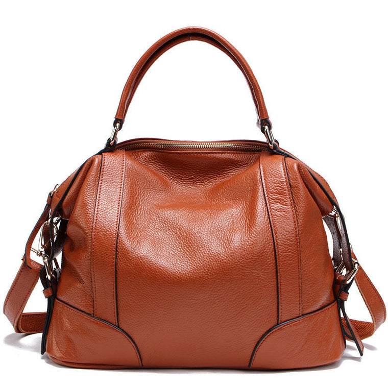 36b85adf4f 100% Genuine Leather Women s Messenger Bags First Layer Of Cowhide  Crossbody Bags Female Designer Shoulder