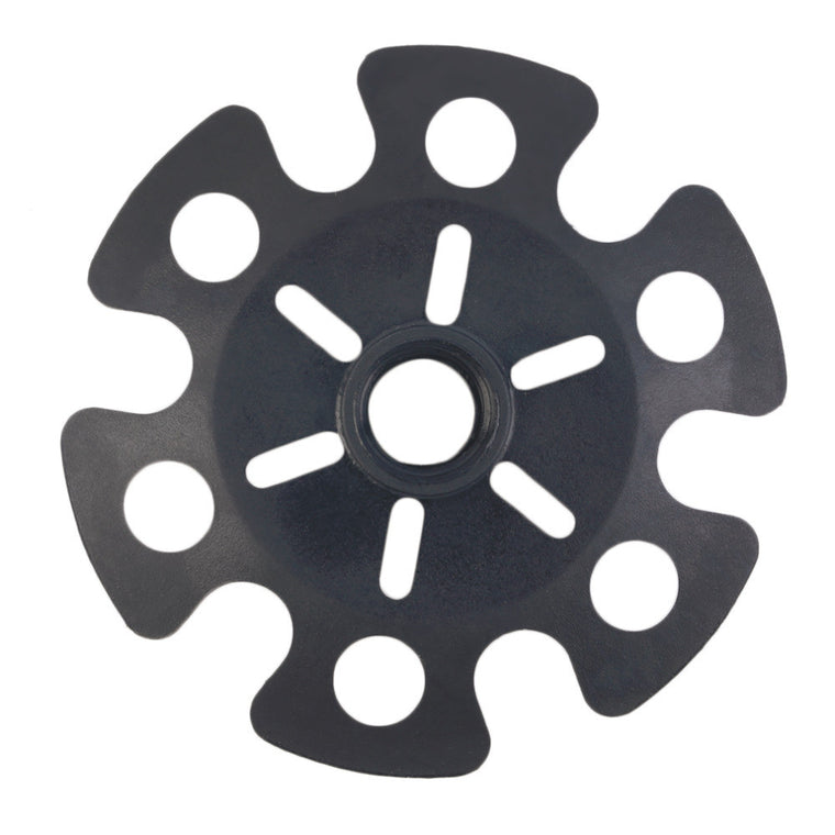 Rubber Tip End Cap Hammer Snowflake Basket for Walking Trekking Pole Stick free shipping