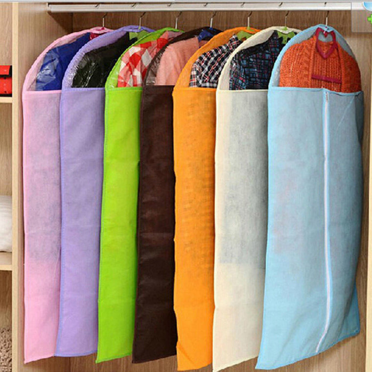 Useful Clothes Dress Garment Cover Bag Dustproof Coat Skirt Storage Protector