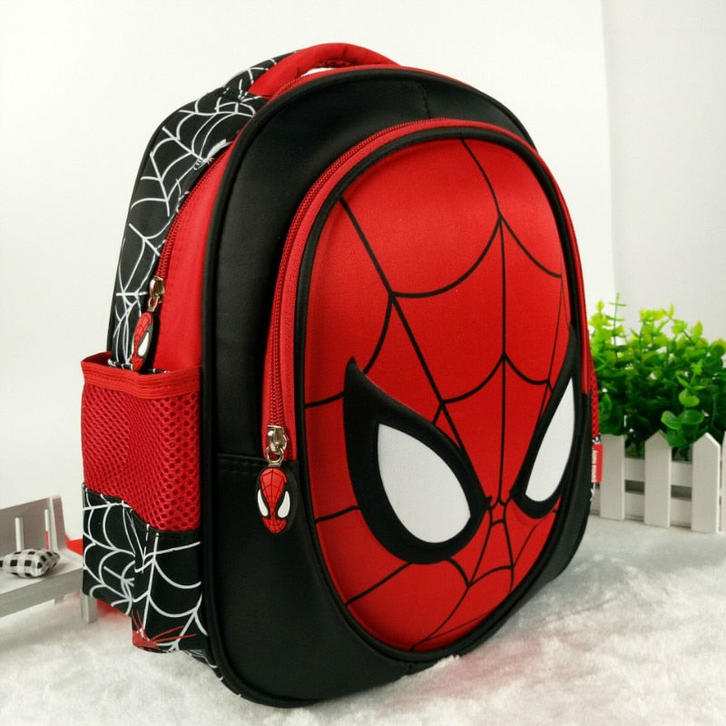 Hot 3D stereo Children's  Boy spider man Cute New  School Bag Boys Backpack Kids Children Cartoon School Bags Backpacks Baby