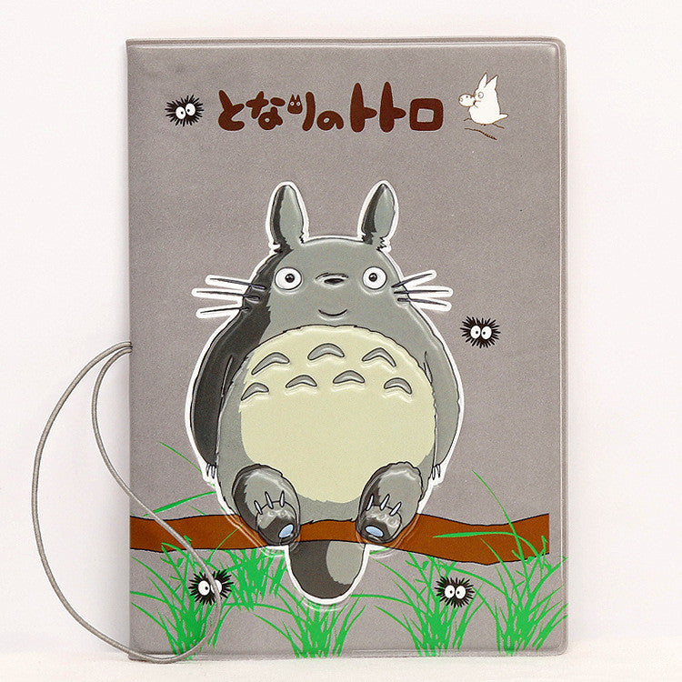 Overseas travel accessories passport cover, luggage accessories passport card-My neighbor totoro