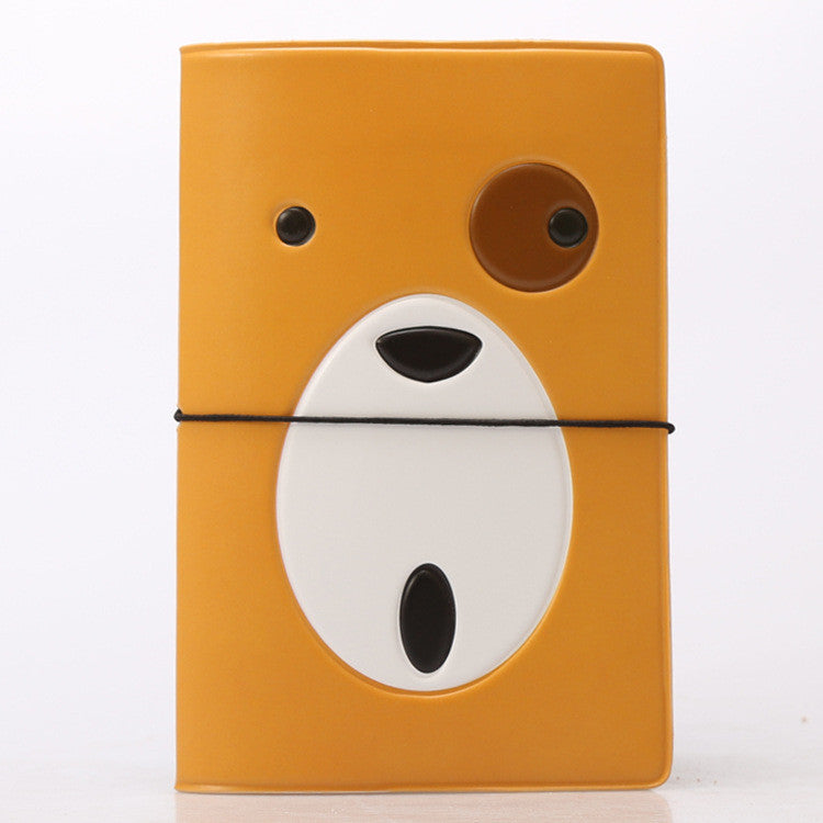 Hot Overseas travel accessories passport cover, luggage accessories passport card-Monocular dog