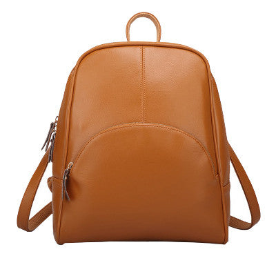 New Leather Shoulder Bag Korean fashion leisure backpack bag wholesale female all-match