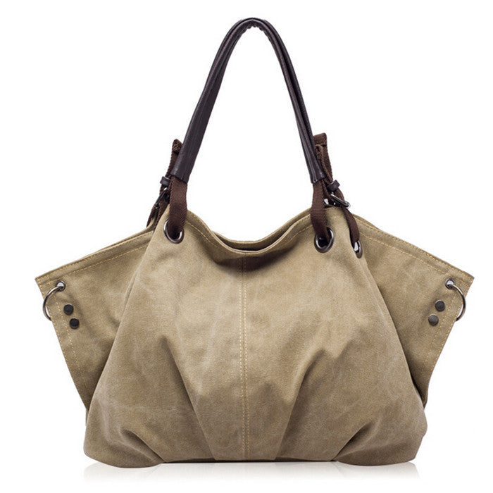 High quality canvas bags handbags women famous brand crossbody bag ladies retro tote bolsa feminina leisure