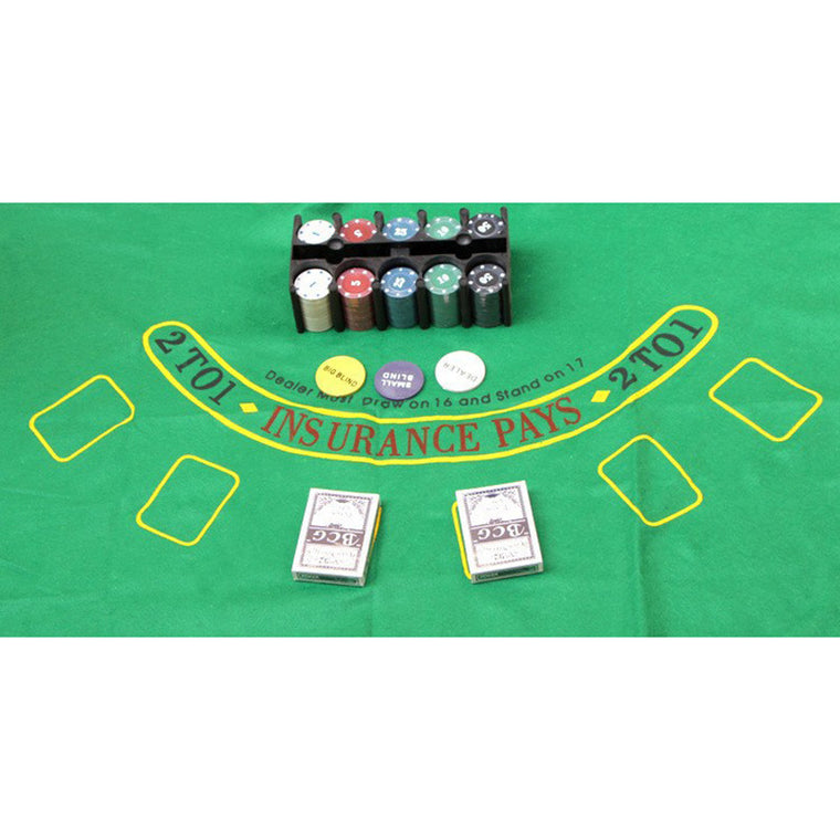 Super Deal 200 Texas Holdem Poker Set  Bargaining Poker Chips Set Blackjack Table Cloth Blinds Dealer Poker Cards K8356