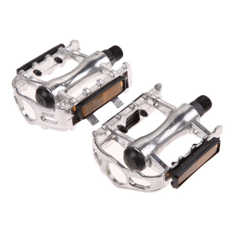 "1 Pair BMX MTB Aluminium Alloy Mountain Bicycle Cycling 9/16"" Pedals Flat BMX Ultra-Light Bicycle Pedals 4 Colors Bicycle Parts"