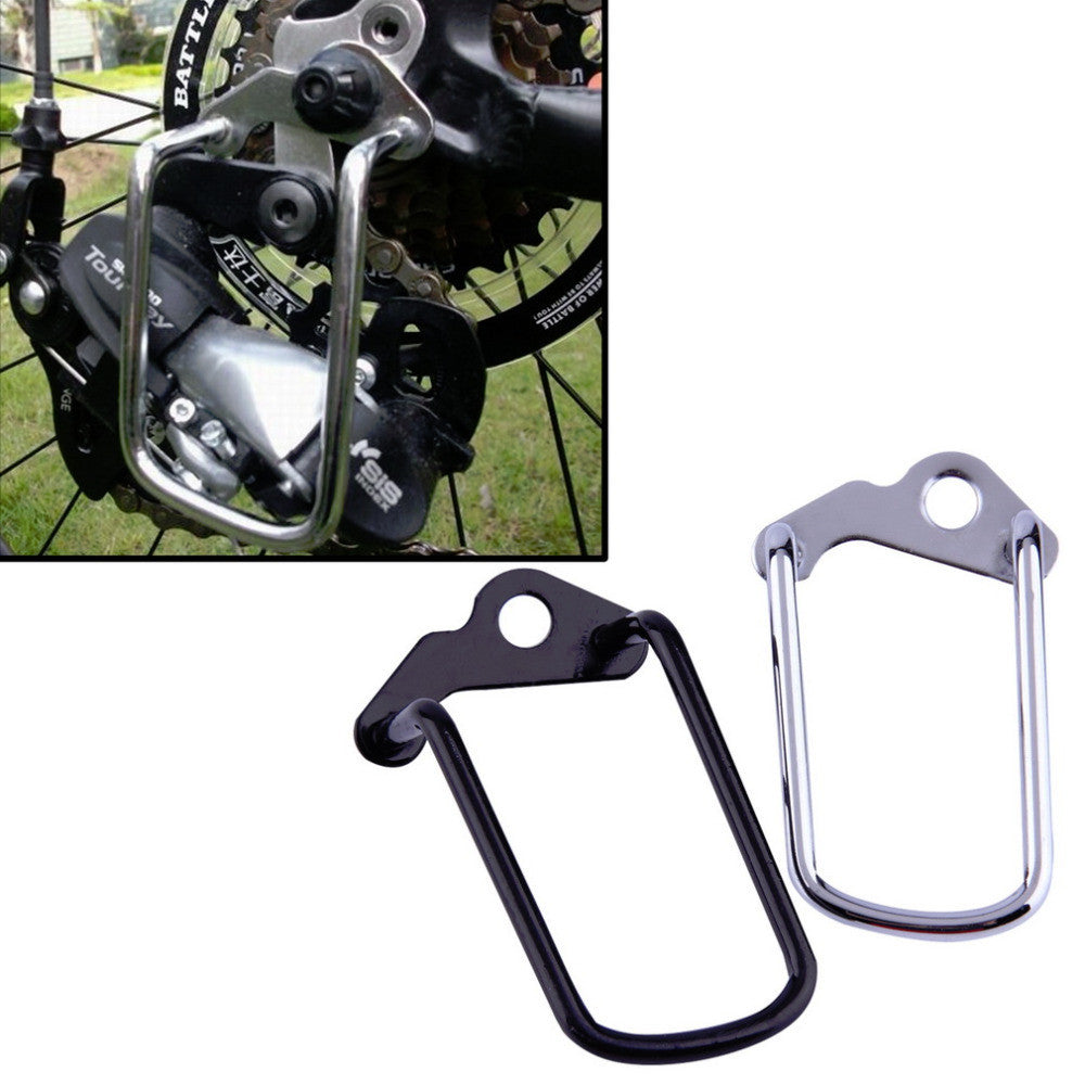 Hot Worldwide Cycling Bike Aluminum Bicycle Rear Gear Derailleur Chain Stay Guard Protector