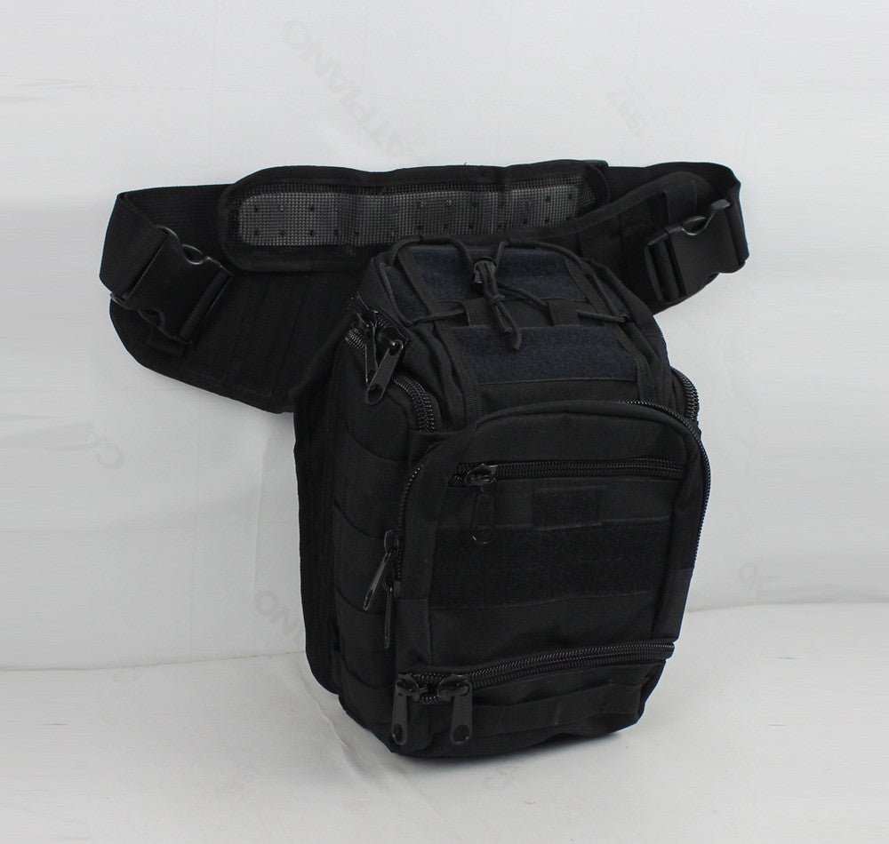New Men 600D Nylon Military Travel Riding Cross Body Shoulder Messenger Sling Chest Pack Saddle Bag