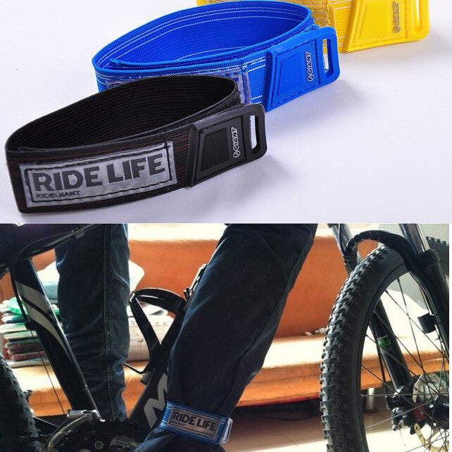 Ride life RunningFishing Cycling Jogging camping Bike Bicycle Reflective Safety Pant wrist Band leg Strap Belt Bike accessories