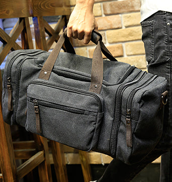 6fcfef8af73 ... Xiao.p Vintage military Canvas men travel bags Carry on Luggage bags  Men Duffel bags
