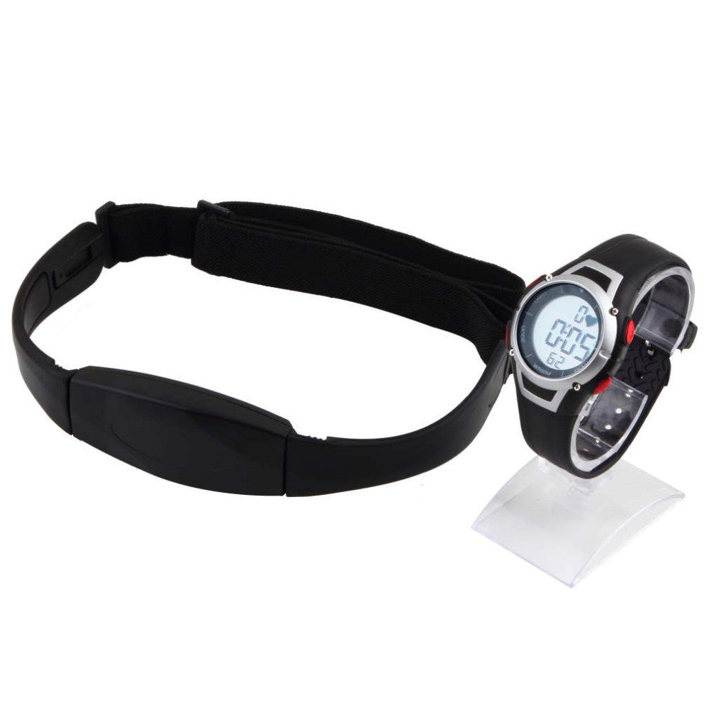 1Pcs new Heart Rate Monitor Sport Fitness Watch  Favor Outdoor Cycling Sport Waterproof Wireless  With Chest Strap