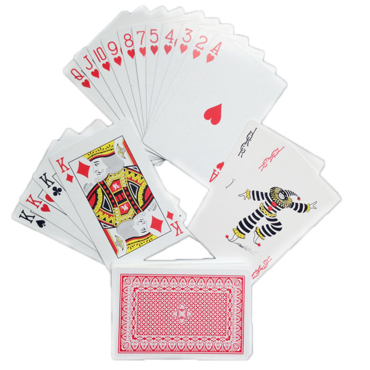 PVC plastic poker Texas poker wholesale custom poker cards narrow bridge pvc water wash wear-resistant