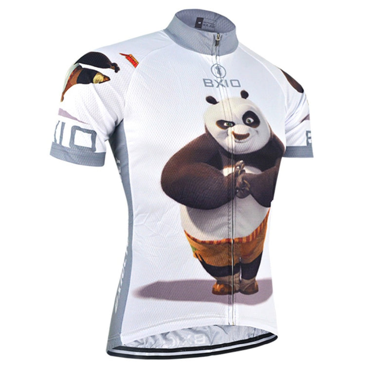 Funny Cycling Jerseys Fat Bear Bike Clothing Raiders Jersey Abbigliamento Ciclismo Estivo Camisetas Futbol BXIO BX-0209XM081-J