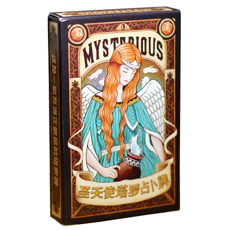 """Myserlous  Tarot"" Board Game 78 PCS/Set Tarot Cards Game For Family/Friends With Free Shipping"