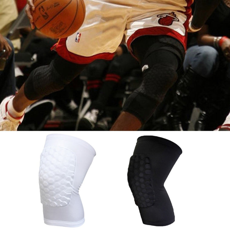 New Kids Adult Pad Basketball Leg Knee Short Sleeve Protector Gear Crashproof