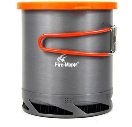 FMC-XK6 Fire Maple Outdoor Hiking Cooking Heat Exchanger Pot Cup Camping Picnic Kettle Aluminum Kettle 190g 1L