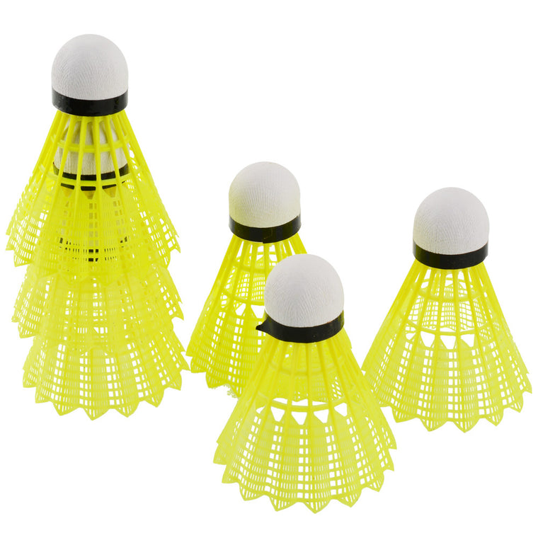 6Pcs Training Train Gym Fitness Nylon Shuttlecocks Birdies Badminton Ball Sport Plastic Durable Free shipping