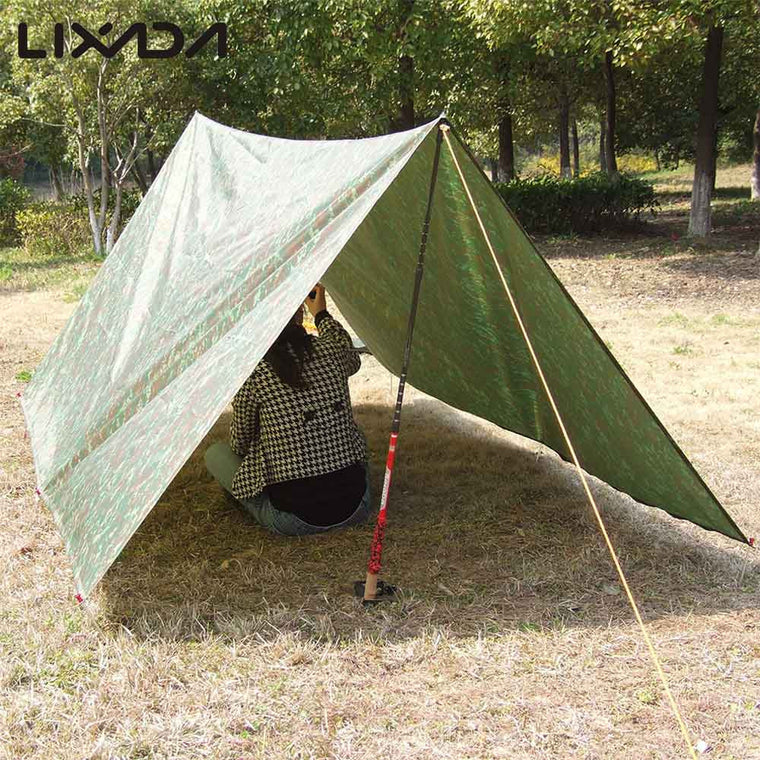 3 * 3m Camouflage C&ing Mat C&ing Tent Outdoor Waterproof Windproof Awning C&ing Mats Mattress Multifunction & Wide Selection u0026 Best Deals on Tents for Outdoors - Shoptourismkit.com