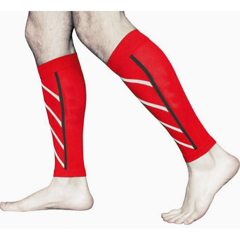 1 Pair Calf Support Graduated Compression Leg Sleeve Sports Socks Outdoor Exercise