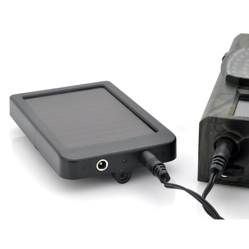 Hunting Camera Battery Solar Panel Charger External Power for Trail Camera HC300M HC500G HC500M