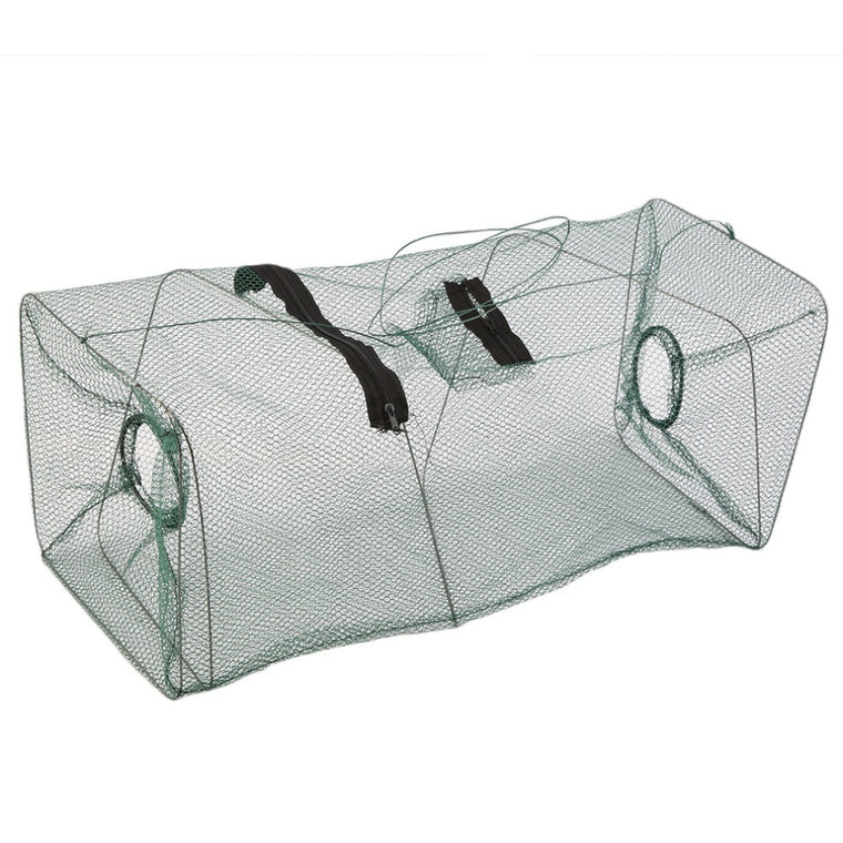 Foldable Crab Fish Crawdad Shrimp Minnow Fishing Bait Trap Cast Net Cage Hot Sale