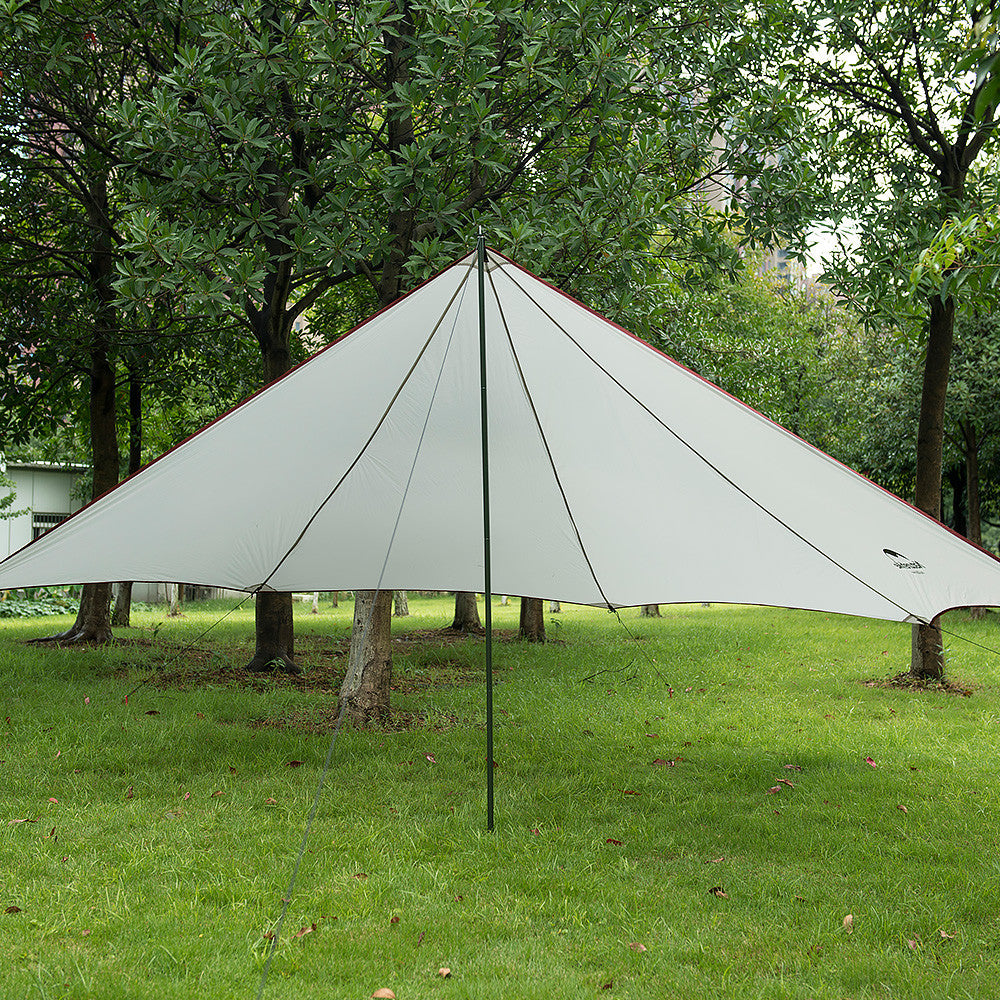 Naturehike canopy tent. Quickly erected tent outdoor shade UV rain. Camping sun pergola. Field survival, travel beach recreation
