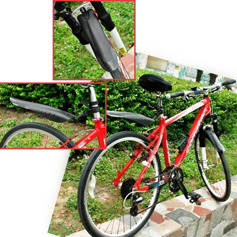 New Arrival Mountain Bike Bicycle Road Tire Devetail Front Rear Mudguard Fender Set Mud Guard new arrival