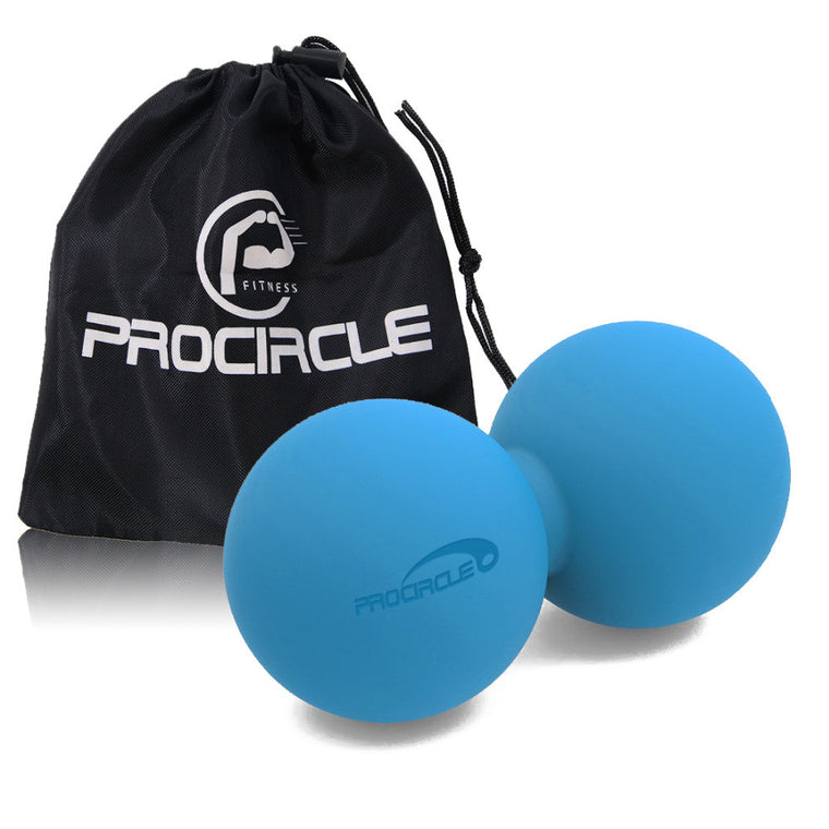 Double Lacrosse Ball Mobility Myofascial Trigger Point Release Massage Ball Myofascial Release Crossfit Ball FREE BAG